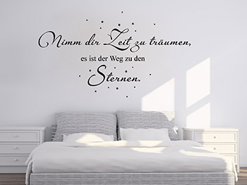 wandtattoo spr che zitate und begriffe auf. Black Bedroom Furniture Sets. Home Design Ideas