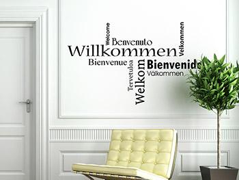 wandtattoo spr che zitate und begriffe auf. Black Bedroom Furniture Sets. Home Design Ideas