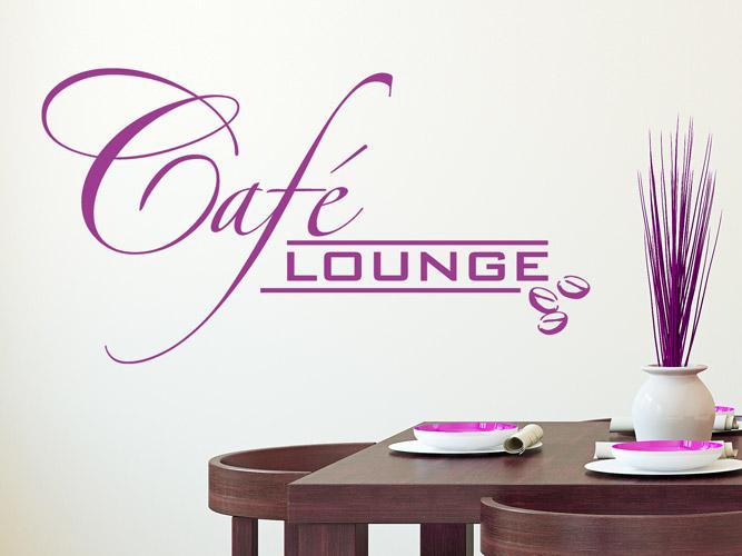 Moderne Wandtattoos wandtattoo moderne café lounge bei homesticker.de