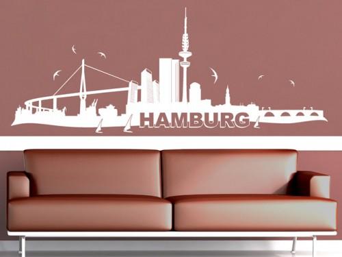Deutsche st dte als wandtattoo bei berlin m nchen hamburg k ln - Wandtattoo dortmund ...