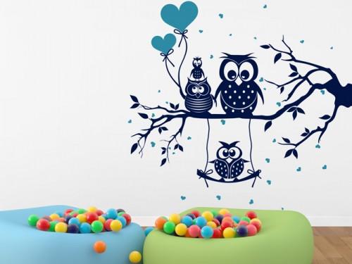 beste eulenmotive kinderzimmer zeitgen ssisch die besten einrichtungsideen. Black Bedroom Furniture Sets. Home Design Ideas
