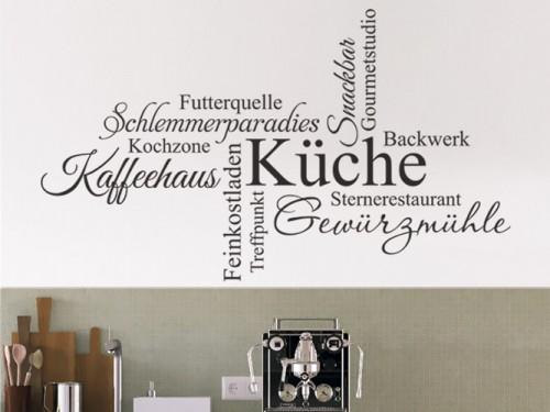 Wandtattoos für die Küche - Wandtattoo Sprüche und Küchenmotive