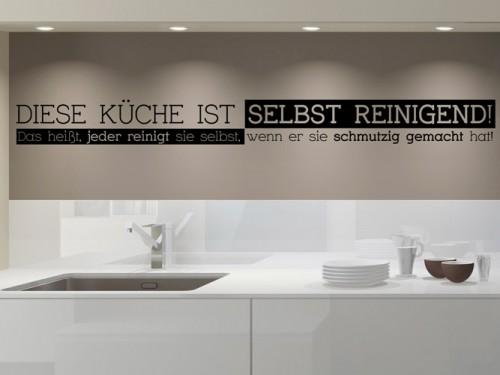 Wandtattoos für die Küche - Wandtattoo Sprüche und Küchenmotive | {Küchen modern art 92}