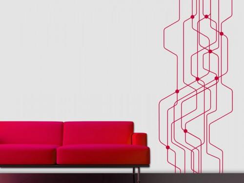 ausgefallene wandtattoo motive bei. Black Bedroom Furniture Sets. Home Design Ideas