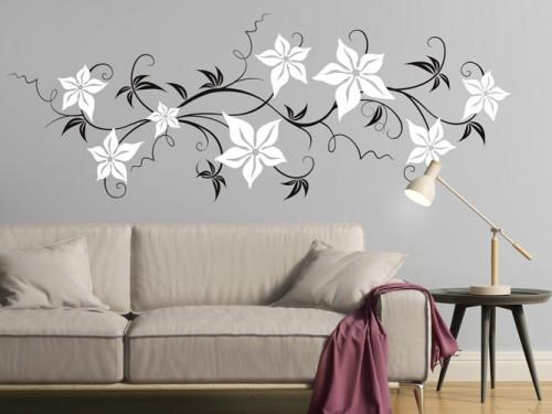 wandtattoo blumen und bl ten bei wandtattoos mit bl te. Black Bedroom Furniture Sets. Home Design Ideas