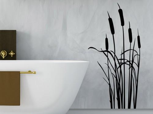 wandtattoo gr ser und str ucher bei gras silhouette wandtattoos. Black Bedroom Furniture Sets. Home Design Ideas