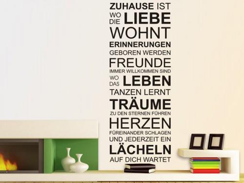 Wandtattoos Furs Wohnzimmer Wandtattoo Spruche Und Ideen