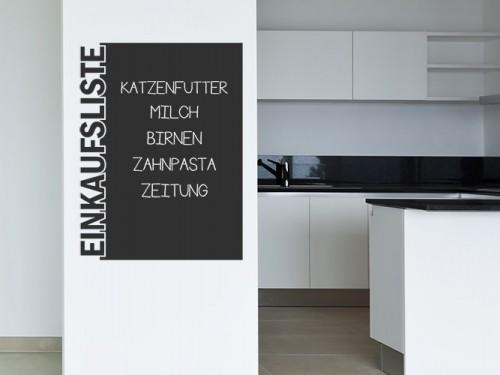 selbstklebende tafelfolie bei wandtattoo tafel folie zum beschriften. Black Bedroom Furniture Sets. Home Design Ideas