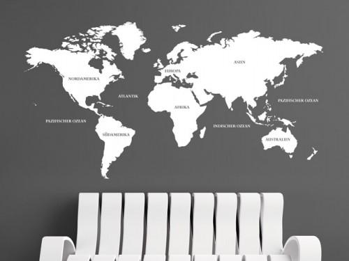 wandtattoo weltkarte umriss reuniecollegenoetsele. Black Bedroom Furniture Sets. Home Design Ideas
