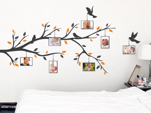 wandtattoo fotorahmen f r ihre bilder bei bilderrahmen wandtattoos. Black Bedroom Furniture Sets. Home Design Ideas