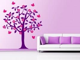 wandtattoo fotobaum mit fr chten bei. Black Bedroom Furniture Sets. Home Design Ideas