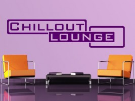 Wandtattoo Chillout Lounge Classic
