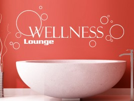 Wandtattoo Filigrane Wellnesslounge