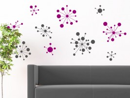 wandtattoo federn wolke bei. Black Bedroom Furniture Sets. Home Design Ideas