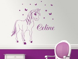einhorn elfen tattoo pictures to pin on pinterest. Black Bedroom Furniture Sets. Home Design Ideas