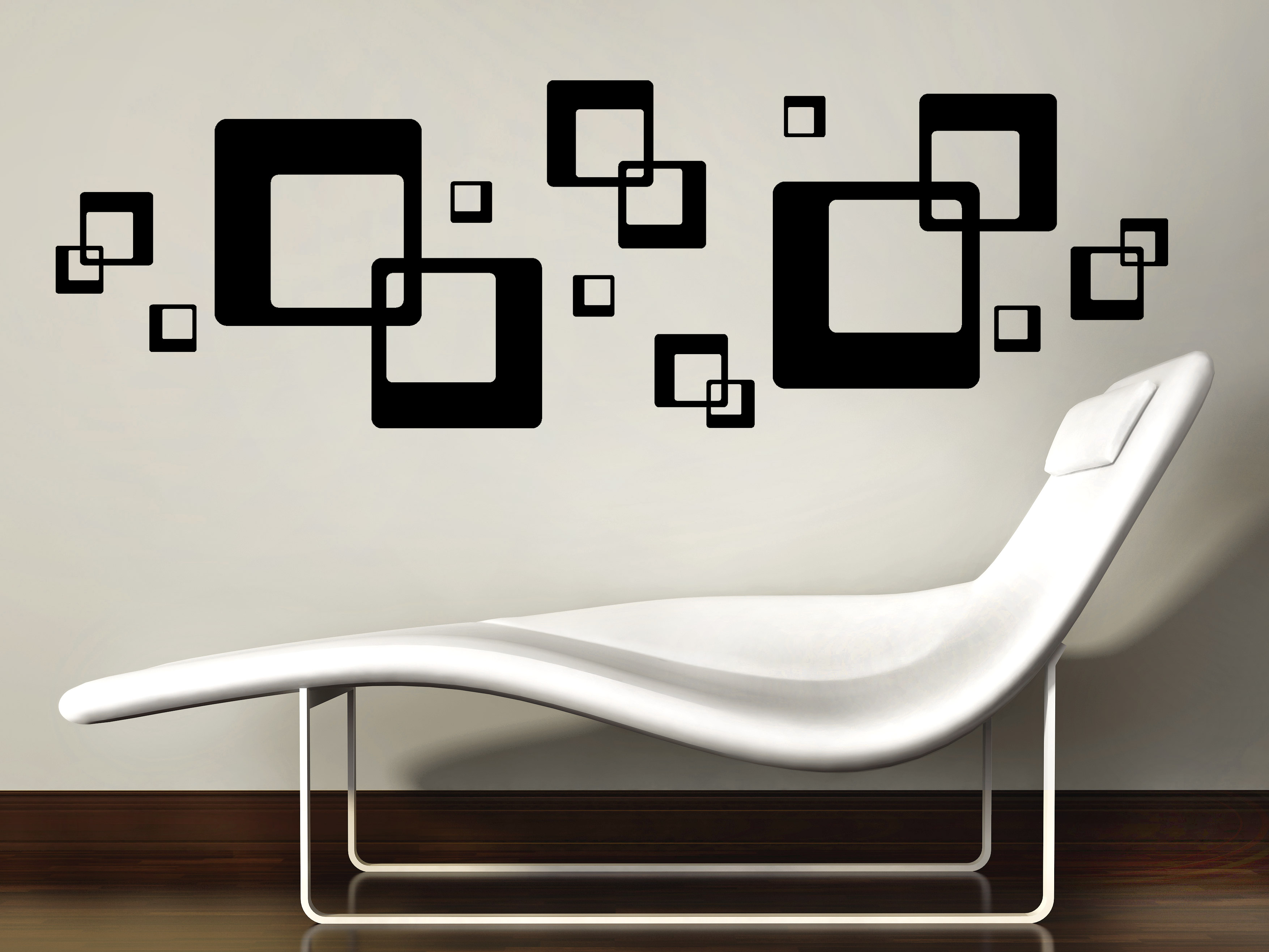 wandtattoo cubeornament bei. Black Bedroom Furniture Sets. Home Design Ideas