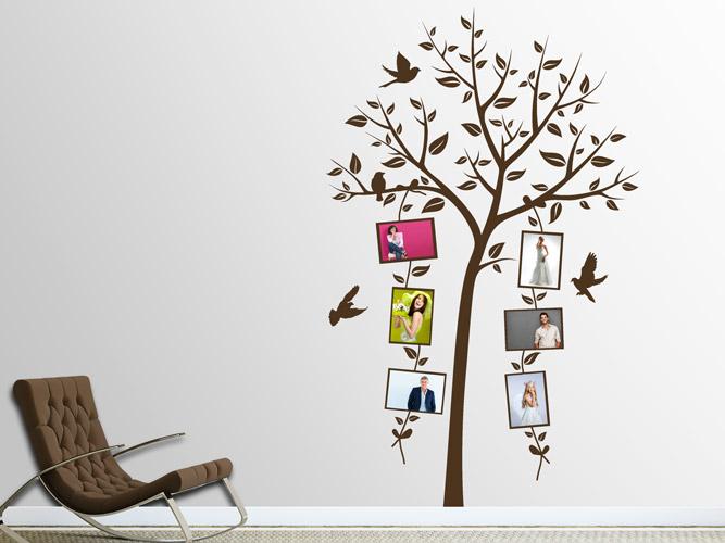 wandtattoo fotoketten im baum bei. Black Bedroom Furniture Sets. Home Design Ideas