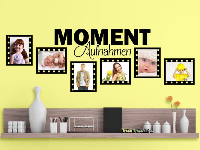 wandtattoo fotorahmen momentaufnahmen bei. Black Bedroom Furniture Sets. Home Design Ideas