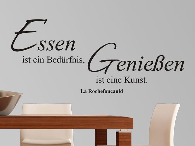Wandtattoo Genießen Ist Eine Kunst Bei Homesticker De
