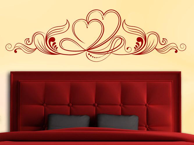 wandtattoo herz dekor bei. Black Bedroom Furniture Sets. Home Design Ideas