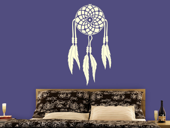 wandtattoo indianischer traumf nger bei. Black Bedroom Furniture Sets. Home Design Ideas