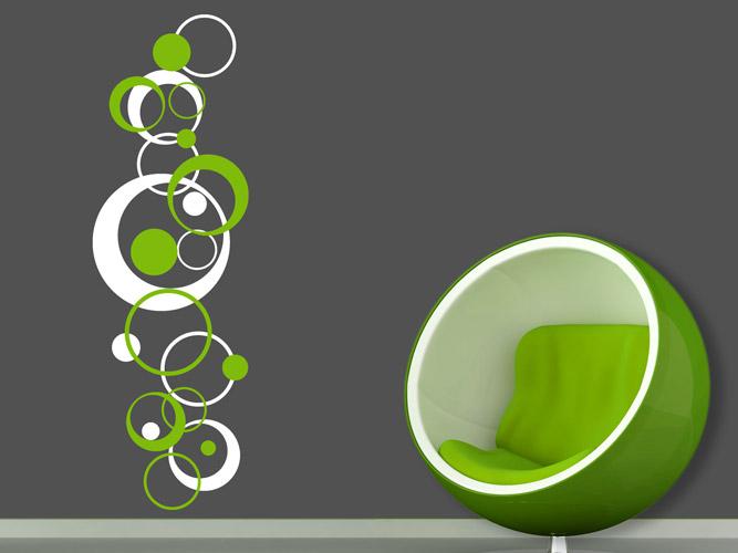 Wandtattoo Ornament In Retrodesign Bei Homesticker De