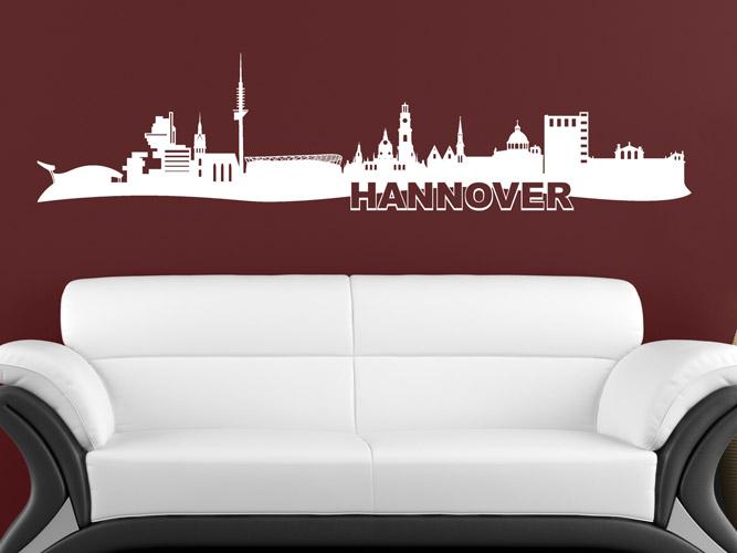 Wandtattoo Skyline Von Hannover Bei Homesticker De