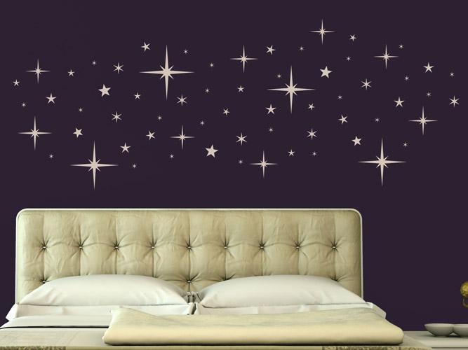 Wandtattoo Sternenhimmel für die Wohnung bei Homesticker.de