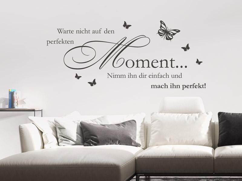 wandtattoo-deutscher-spruch-perfekter-moment