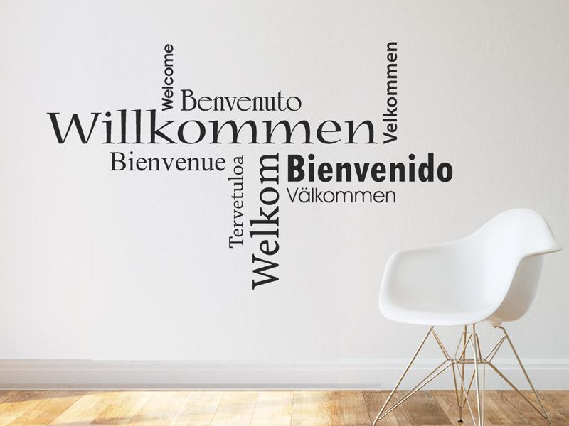 wandtattoos in deutsch englisch spr che in beiden sprachen. Black Bedroom Furniture Sets. Home Design Ideas