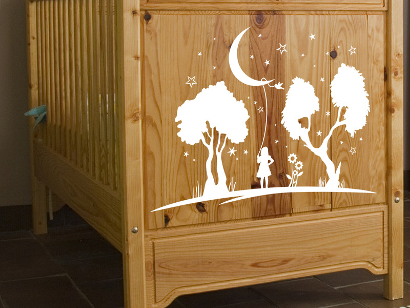 Wandtattoos als Dekoration im Babyzimmer