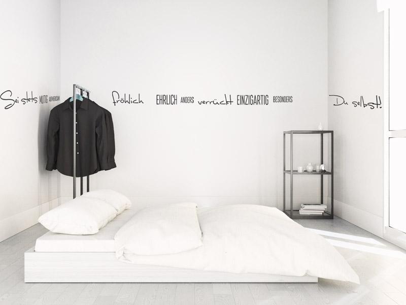 wandtattoos neu anordnen wanddesign selbst gestalten. Black Bedroom Furniture Sets. Home Design Ideas